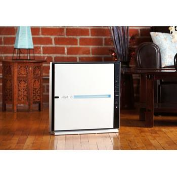 Floor placement of Rabbit Air MinusA2 Air filter