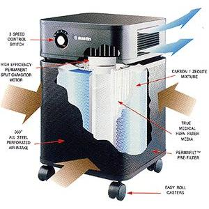 How Austin air healthmate plus HM400 works