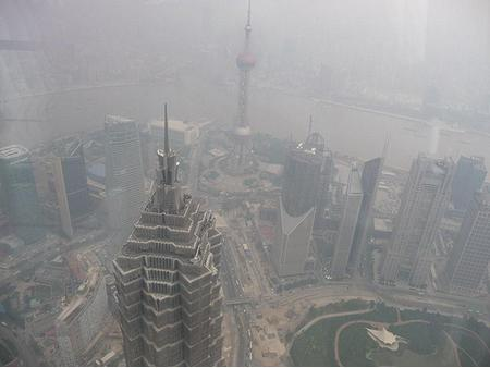 Picture of bad air pollution