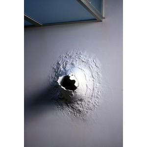Wall eruption due to severe mold